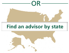 Find an advisor by state